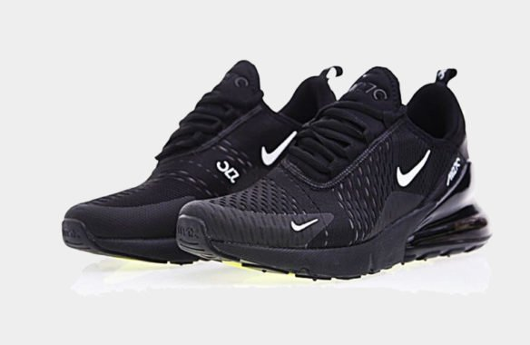 Фото Nike Air Max 270 черные с белым - 1