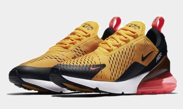 Фото Nike Air Max 270 желтые - 1